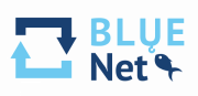 bluenetproject.eu Logo