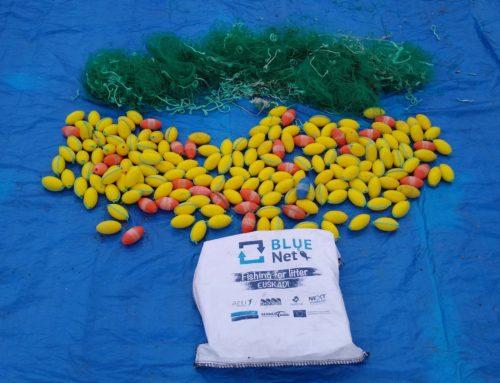 Last marine litter characterization for BLUENET